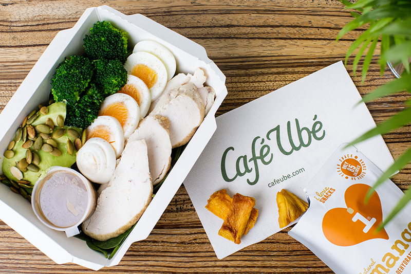 Café Ubé Chicken Protein Box