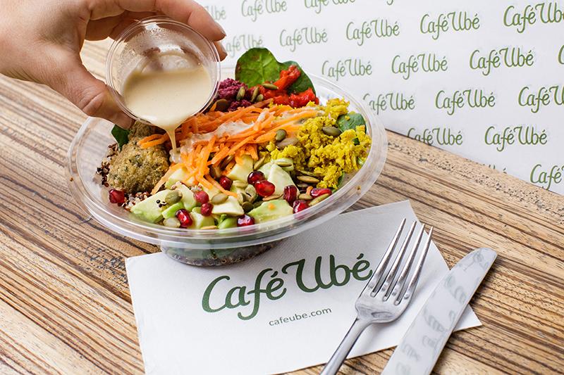 Café Ubé Falafel Bowl
