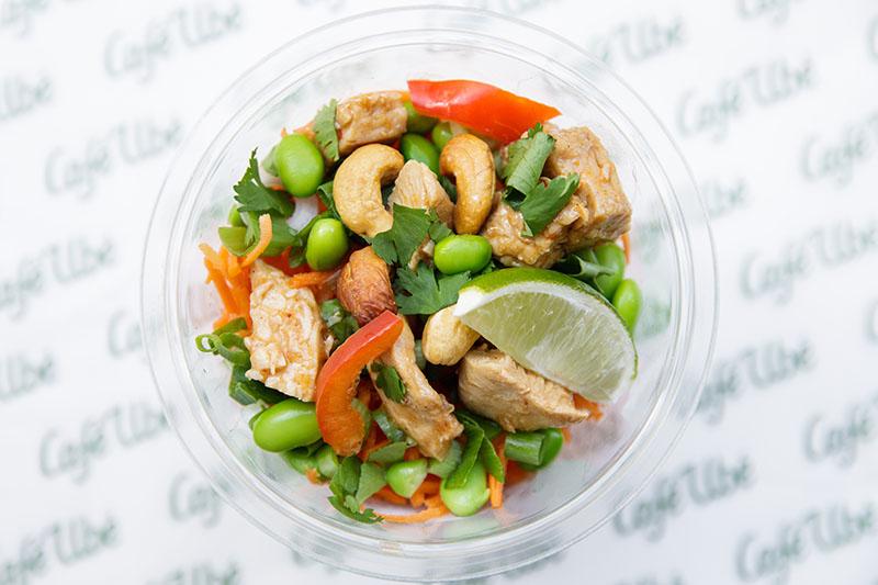 Café Ubé Chicken Noodle Salad
