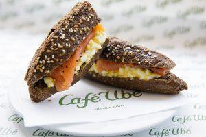 Café Ubé Salmon Baguette