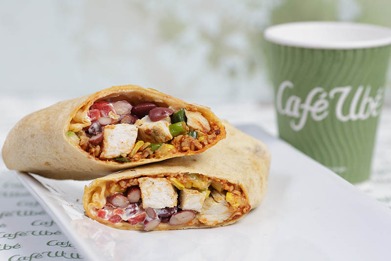 Chicken Burrito Wrap