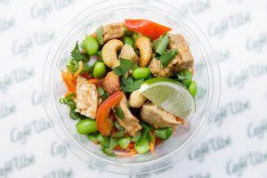 Sesame Chicken & Cashew Salad