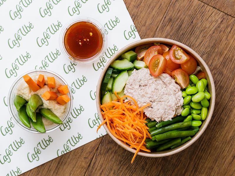 Cafe Ube Tuna Salad